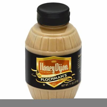 PLOCHMANS MUSTARD SQUEEZE HONEY DIJON, 11 OZ (Pack of 6)