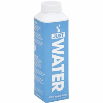 Just Water Spring Water, 500mL, (Pack of 12)