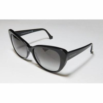 Balenciaga Ba16 57-15-140 Black Full-Rim Sunglasses