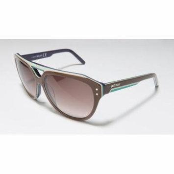 Just Cavalli Jc505s 58-13-140 Brown / Multicolor Full-Rim Sunglasses