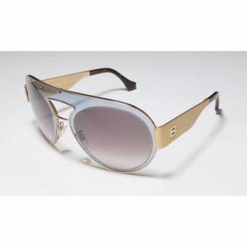 Balenciaga Ba4 59-21-140 Transparent Blue / Gold Full-Rim Sunglasses