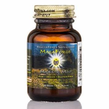 MacaForce� Majestic Mint Powder - 0.71 oz (20 Grams) by HealthForce Nutritionals
