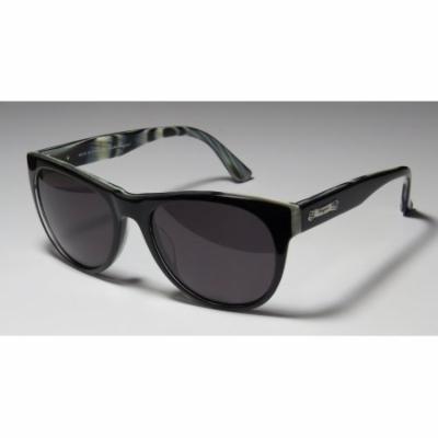 Salvatore Ferragamo 617s 52-18-140 Black / Horn Full-Rim Sunglasses