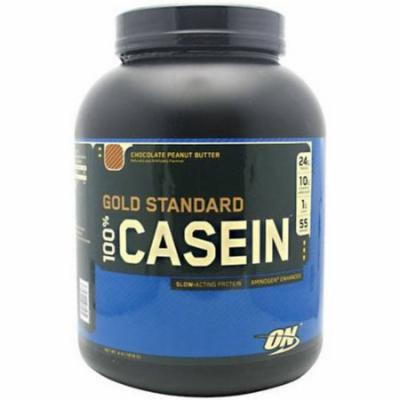 Optimum Nutrition 100% Casein, Chocolate Peanut Butter, 4 LB