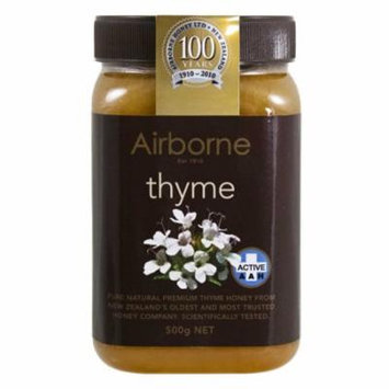 Airborne (New Zealand) AAH+ Thyme Honey 500g / 17.85oz