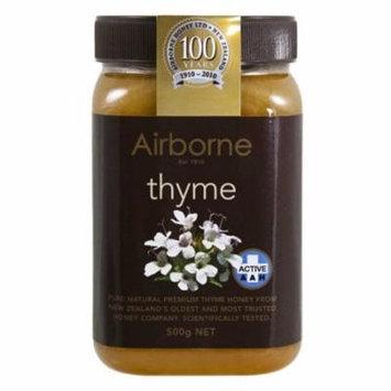 Airborne (New Zealand) AAH+ Thyme Honey 500g / 17.85oz
