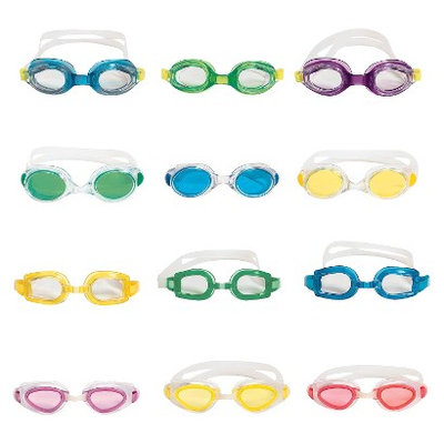 Poolmaster Swim Goggles Set of 6 - Assortment