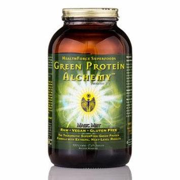 Green Protein Alchemy� Magic Mint Powder - 17.65 oz (500 Grams) by HealthForce N