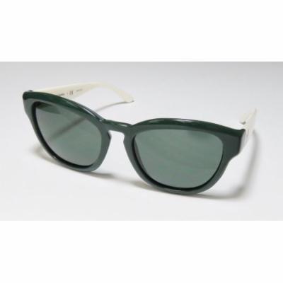 Tory Burch 9040 53-18-135 Dark Green / Ivory Full-Rim Sunglasses