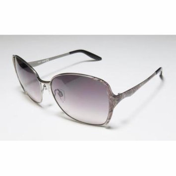 Just Cavalli Jc421s 59-15-135 Gunmetal / Snake Pattern Full-Rim Sunglasses