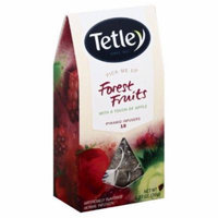 TETLEY TEA HERBAL INFUSION FRUIT, 18 BG (Pack of 5)