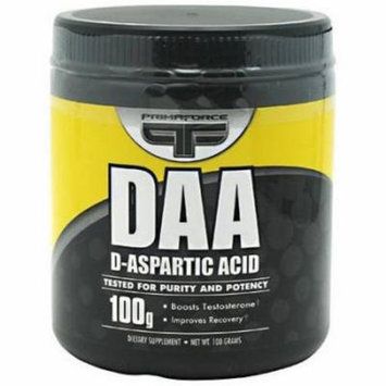 Primaforce D-Aspartic Acid, Unflavored, 100 GM