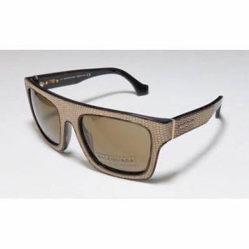 Balenciaga Ba0010 54-20-140 Tortoise / Taupe Full-Rim Sunglasses