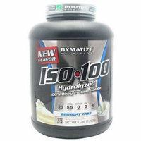 Dymatize Iso-100, Birthday Cake, 5 LB