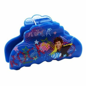 Disney's High School Musical Troy Blue Colored Plastic Hair Clip