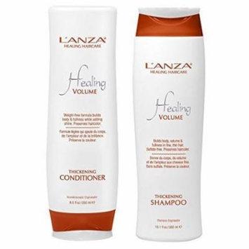 Lanza Healing Volume Thickening Shampoo 10.1 oz & Conditioner 8.5 oz DUO