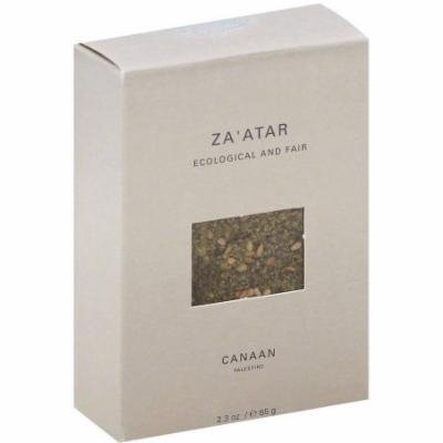 Canaan Ecological and Fair Za' atar, 2.3 oz, (Pack of 12)