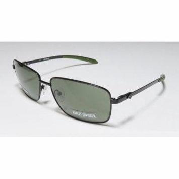 Harley-Davidson 878 60-15-140 Black Full-Rim Sunglasses