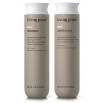 No Frizz Shampoo (8oz) and Conditioner (8oz) Duo by Living Proof