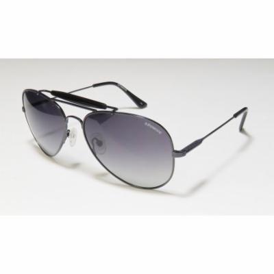 Polaroid X4320b 59-16-140 Black Full-Rim Sunglasses