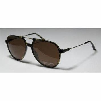 Calvin Klein Jeans 402s 59-15-140 Olive / Tortoise Full-Rim Sunglasses