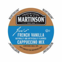 Martinson Cappuccino/Latte French Vanilla Cappuccino, RealCup portion pack for Keurig K-Cup Brewers, 24 Count