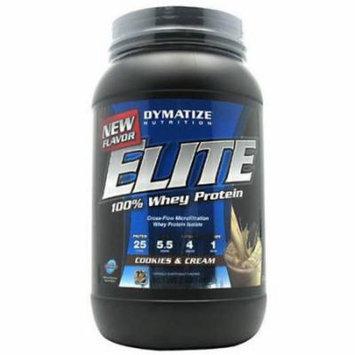 Dymatize 100% Whey Protein, Cookies & Cream, 2 LB