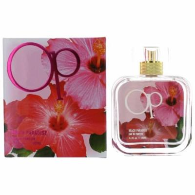 OP Beach Paradise Perfume by Ocean Pacific, 3.4 oz EDP Spray for Women