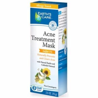 Earths Care 1216282 Acne Treatment Mask, 2. 5 oz