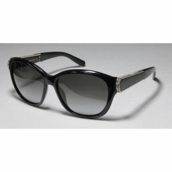 Chloe Ce654sr 58-16-135 Black / Gold Full-Rim Sunglasses