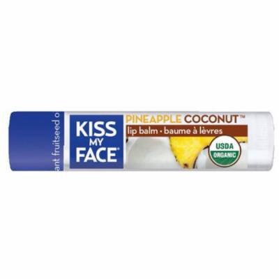 Kiss My Face BCA72916 Og2 Coconut Lip Balm Refil, 6 x 0. 18 oz
