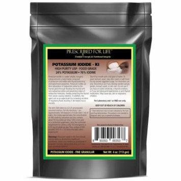 Potassium Iodide - 100% Pure USP Powder - 24% K / 76% I