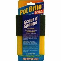 Lola Terry ; Sponge Scourer (Pack of 6)