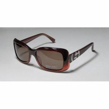 Giorgio Armani 511 55-16-130 Brownish Red Full-Rim Sunglasses