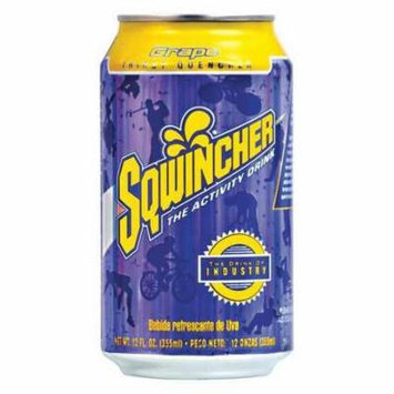 SQWINCHER 100102-GR Sports Drink,12 oz.,Grape G4050877