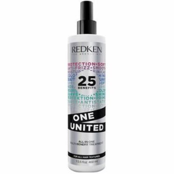 Redken 25 Benefits One United All-In-One Multi-Benefit Treatment, 13.5 fl oz