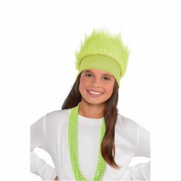 Amscan 395913 Head Band Crazy Hair, Neon - Pack of 6