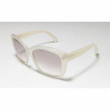 Alexander Mcqueen 4193 56-16-140 Ivory Full-Rim Sunglasses