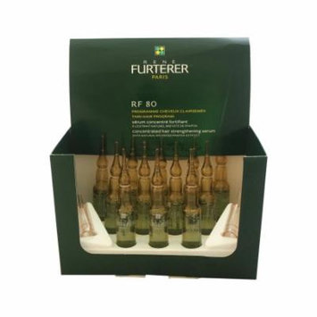 RF 80 Concentrated Serum For Hair Loss by Rene Furterer for Unisex - 12 x 5 ml Treatment
