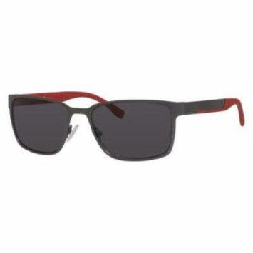 HUGO BOSS Sunglasses 0638/S 0HXR Ruthenium Carbon 58MM