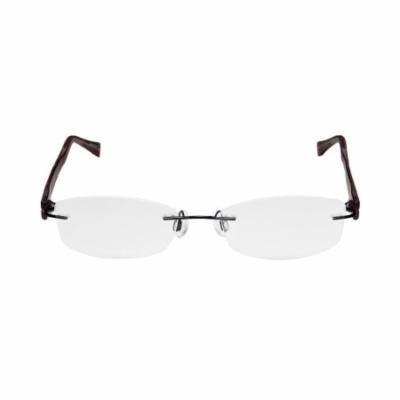 Charmant 10946 51-17-140 Black / Multicolor Rimless Eyeglasses Frame