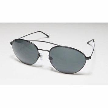 Giorgio Armani 6032-J 55-18-140 Black Full-Rim Sunglasses