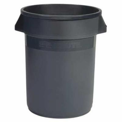 RUBBERMAID FG264388GRAY Food-Grade Waste Container,44 gal.,Gray G4014337