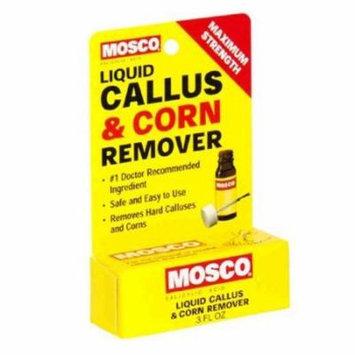 5 Pack Mosco Callus And Corn Remover Liquid .3 oz Maximum Strength