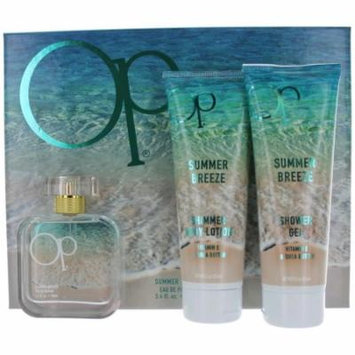 Ocean Pacific Summer Breeze 3 Piece Eau De Parfum Gift Set for Her