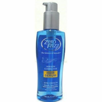 3 Pack Zero Frizz Keratin Corrective Extra Strength Hair Serum 5 fl oz