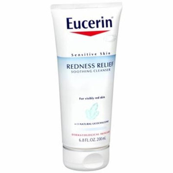 Eucerin® Redness Relief Soothing Cleanser for Sensitive Skin - 6.8 oz Pack of 2