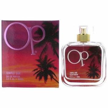 OP Simply Sun Perfume by Ocean Pacific, 3.4 oz EDP Spray for Women