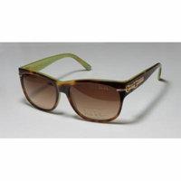 Nicole Miller Hudson 56-14-135 Blonde Tortoise / Gold Full-Rim Sunglasses