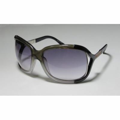 Valentino 5562 64-21-110 Olive / Black Full-Rim Sunglasses